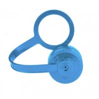 Nalgene Cap, loop-top n/m 38mm blue