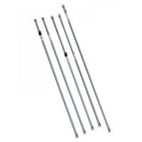 COI Slide Rail - 19/22.2mm x 122cm adjustable w t/n, 10 pack