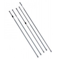 COI Roof Rail - 22.2/25.4mm x 365cm adjustable w t/n, 10pack