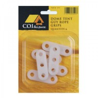 COI Plastic Slider - dome tent 3 hole 3mm, 6 pack