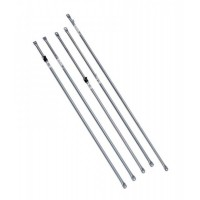 COI Roof Rail - 19/22.2mm x244cm adjustable w t/n, 10 pack