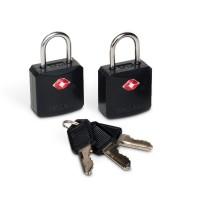 Pacsafe Prosafe 620 TSA luggage locks, black