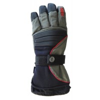 Glove Bad To The Bone Unisex, Blk/DGy/Red, XS