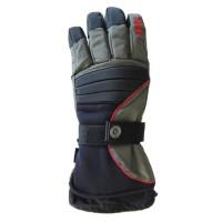 Glove Bad To The Bone Unisex, Blk/DGy/Red, M