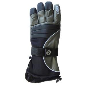 Glove Bad To The Bone Unisex, Blk/DGy/Slat, L