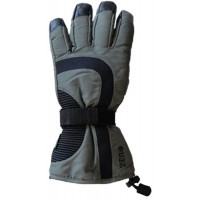 Glove Hippo Unisex, Black/Grey, XS