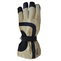 Glove Hippo Unisex, Khaki/Black, XS