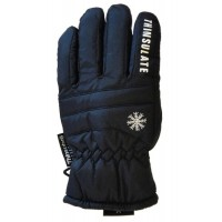 Glove Snowflake Ladies, Black, L
