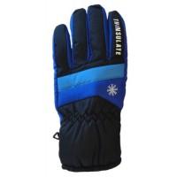 Glove Snowflake Ladies, Blk/Sap/Sky, S