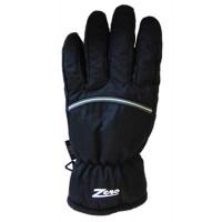 Glove ZA Mens, Blk/Gry pip, M