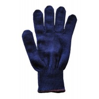 Glove Polypropylene Unisex, Navy, M (BLK band)