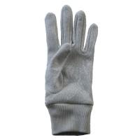 Glove Lurex Men, Silver, One