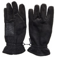Glove Fleece Thinsulate Mens, Black, S