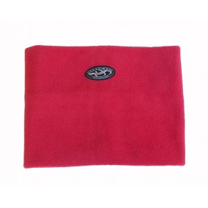 Fleece Neck Warmer Adults, Red, One