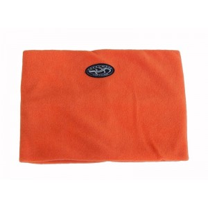 Fleece Neck Warmer Adults, Orange, One