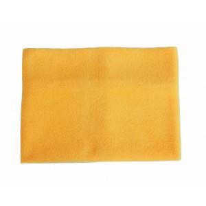 Fleece Neck Warmer Adults, Yellow, One