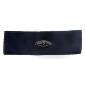 Fleece Headband Circular, Navy, One