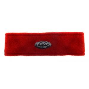Fleece Headband Circular, Rust, One