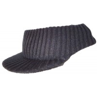 Hat Knit - Style 4015, black