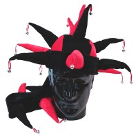 Hat Fun - Style 87A - Red/Black (V1173)