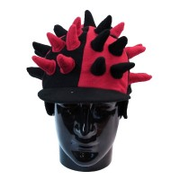 Hat Fun - Style 125 - Red/Black (BSC09144)