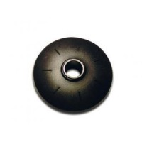 Basket - racing round - 50mm black, per pair