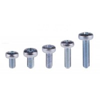 Panhead pozi m/c screw, M6 zinc plated 10mm (50 pcs)