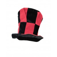 Hat Fun - Style 70 - Red/Black  (V1197)