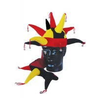 Hat Fun - Style 87A - Red/Black/Gold (V1173)