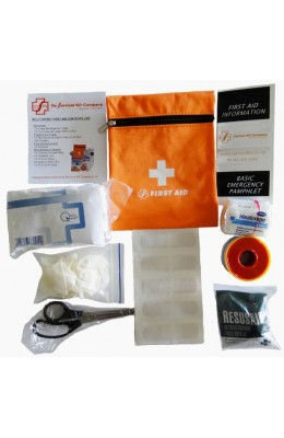 First Aid Kit - Multi Sport (foil blanket), orange