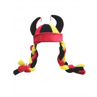 Hat Fun - Style 194 - Red/Black/Gold (V1179)