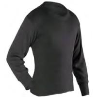 PP Thermals - Adult Long Crew, Black, XL