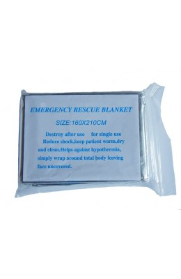Emergency Blanket Thermal, foil