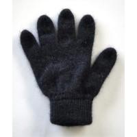 Glove Possum Merino Unisex, Black, S