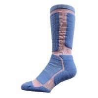 Sock Hiker Long, Pink / Blue, 7-9 - DNT