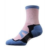 Sock Hiker Short, Pink / Blue, 7-9