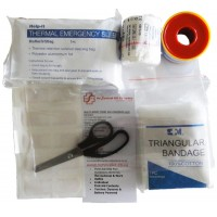 First Aid Kit - Multi Sport (foil bag), clear