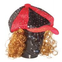 Hat Fun - Style V1215 red-black