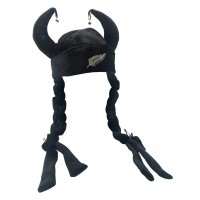 Hat Fun - Style 194 black with fern (V1179)