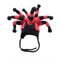 Hat Fun - Style 251 - red-black  (V1165)
