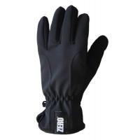 Gloves Fleece Softshell, Black, L