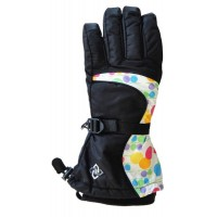 Glove 618 S/B Youth, Black/Bubble, M