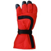 Glove Hippo Unisex, Red/Black, XS