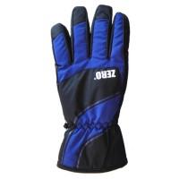 Glove Zero Mens, Black/Blue, L