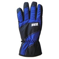 Glove Zero Mens, Black/Blue, XL