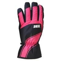 Glove Zero Ladies, Black/Pink, M