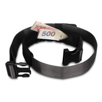 Pacsafe Cashsafe 25 - deluxe travel belt wallet, black