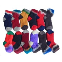 Sock Bed Child 12pk, Assorted, M