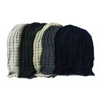 Hat Knit - Style DM01-01, Black, One