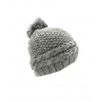 Hat Knit - Style DM01-04, Grey, One